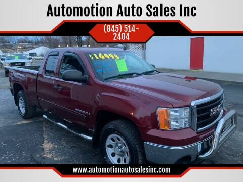 2009 GMC Sierra 1500 for sale at Automotion Auto Sales Inc in Kingston NY