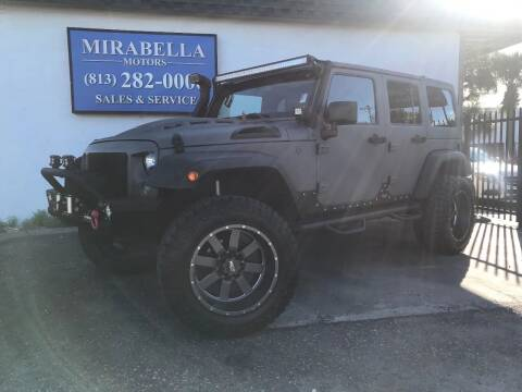 2016 Jeep Wrangler Unlimited for sale at Mirabella Motors in Tampa FL