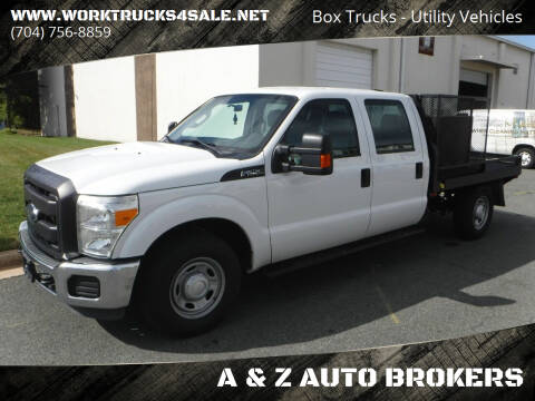 2016 Ford F-250 Super Duty for sale at A & Z AUTO BROKERS in Charlotte NC