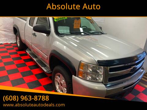 2011 Chevrolet Silverado 1500 for sale at Absolute Auto in Baraboo WI
