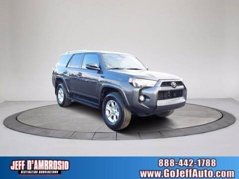 2018 Toyota 4Runner for sale at Jeff D'Ambrosio Auto Group in Downingtown PA