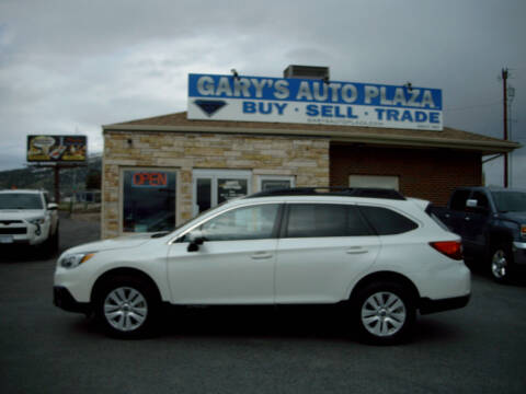 2017 Subaru Outback for sale at GARY'S AUTO PLAZA in Helena MT