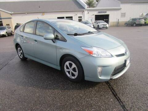 2014 Toyota Prius for sale at BELKNAP SUBARU in Tilton NH