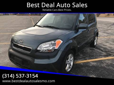 2011 Kia Soul for sale at Best Deal Auto Sales in Saint Charles MO