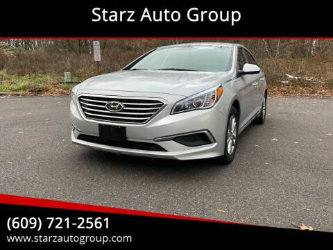 2017 Hyundai Sonata for sale at Starz Auto Group in Delran NJ
