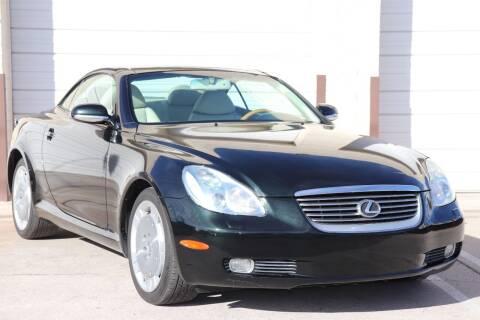 2003 Lexus SC 430 for sale at MG Motors in Tucson AZ