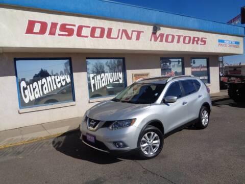 2015 Nissan Rogue for sale at Discount Motors in Pueblo CO