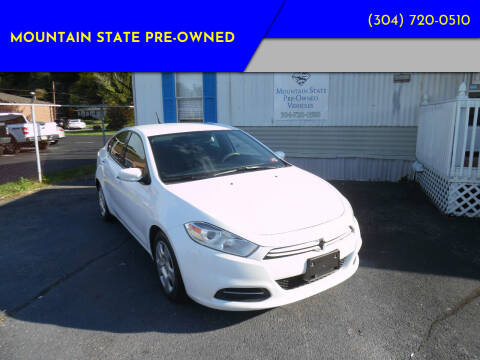 2016 Dodge Dart for sale at Mountain State Pre-owned in Nitro WV