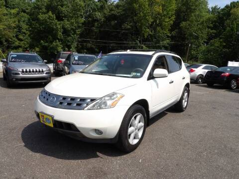 2004 Nissan Murano for sale at United Auto Land in Woodbury NJ