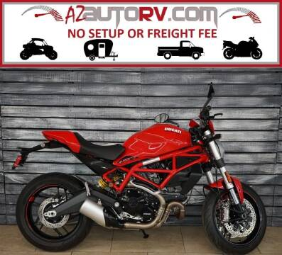 2020 Ducati Monster 797 Plus RED for sale at AZMotomania.com in Mesa AZ