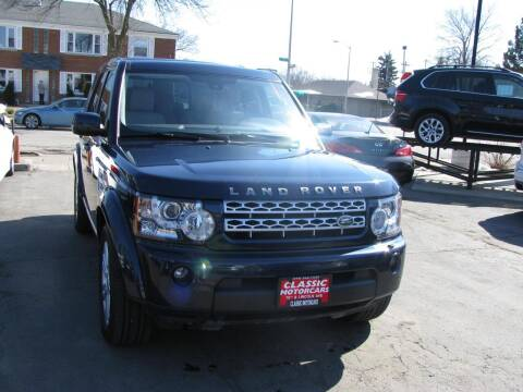2011 Land Rover LR4 for sale at CLASSIC MOTOR CARS in West Allis WI