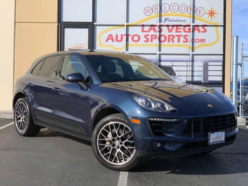 2016 Porsche Macan for sale at Las Vegas Auto Sports in Las Vegas NV