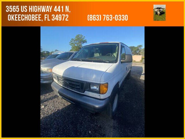 2006 Ford E-Series Cargo for sale at M & M AUTO BROKERS INC in Okeechobee FL