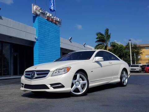 2012 Mercedes-Benz CL-Class for sale at Tech Auto Sales in Hialeah FL