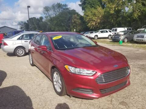 2015 Ford Fusion for sale at Premier Automotive Sales LLC in Kentwood MI