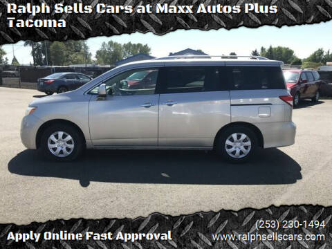 2012 Nissan Quest for sale at Ralph Sells Cars at Maxx Autos Plus Tacoma in Tacoma WA