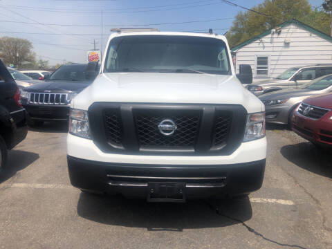 2017 Nissan NV Cargo for sale at SuperBuy Auto Sales Inc in Avenel NJ