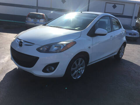 2014 Mazda MAZDA2 for sale at CAR-RIGHT AUTO SALES INC in Naples FL