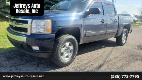 2008 Chevrolet Silverado 1500 for sale at Jeffreys Auto Resale, Inc in Clinton Township MI