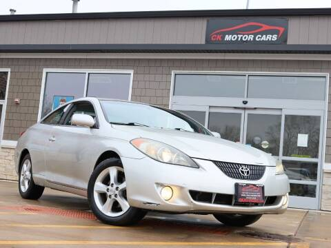 2005 Toyota Camry Solara for sale at CK MOTOR CARS in Elgin IL
