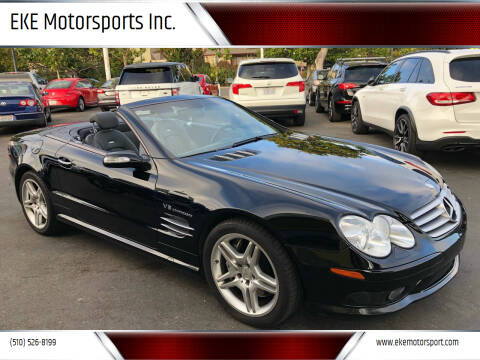 2004 Mercedes-Benz SL-Class for sale at EKE Motorsports Inc. in El Cerrito CA