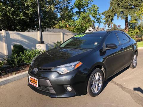 2015 Toyota Corolla for sale at Matthews Motors LLC in Auburn WA