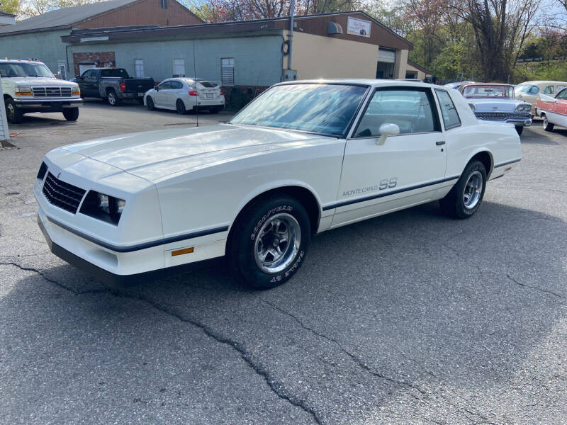 1983 Chevrolet Monte Carlo for sale at Clair Classics in Westford MA