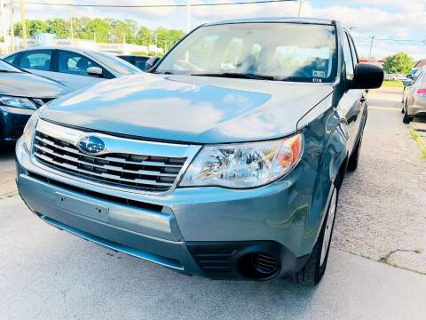 2009 Subaru Forester for sale at Auto Space LLC in Norfolk VA