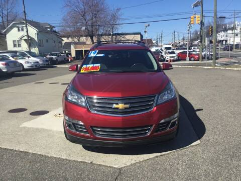 2014 Chevrolet Traverse for sale at Steves Auto Sales in Little Ferry NJ