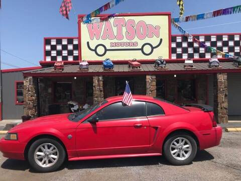 2004 Ford Mustang for sale at Watson Motors in Poteau OK