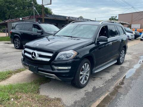 2013 Mercedes-Benz GL-Class for sale at Texas Luxury Auto in Houston TX