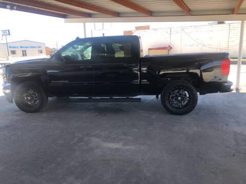 2017 Chevrolet Silverado 1500 for sale at Kann Enterprises Inc. in Lovington NM