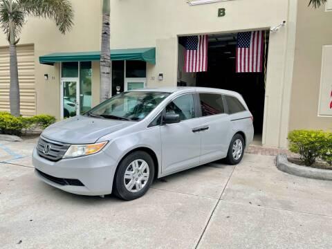 2013 Honda Odyssey for sale at AUTOSPORT MOTORS in Lake Park FL