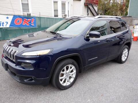 2015 Jeep Cherokee for sale at Concept Auto Group in Yonkers NY