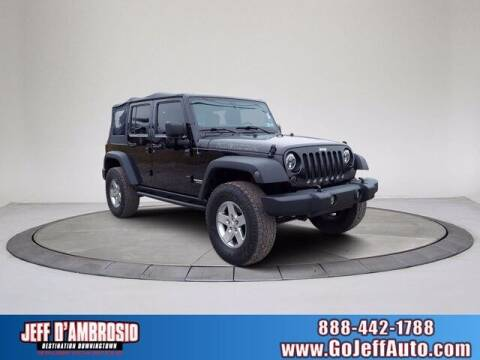 2012 Jeep Wrangler Unlimited for sale at Jeff D'Ambrosio Auto Group in Downingtown PA