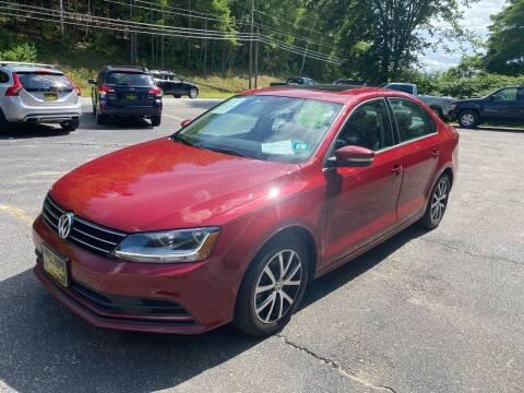 2017 Volkswagen Jetta for sale at Bladecki Auto LLC in Belmont NH