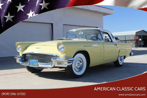 1957 Ford Thunderbird for sale at American Classic Cars in La Verne CA