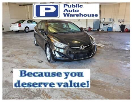 2016 Hyundai Elantra for sale at Public Auto Warehouse in Pekin IL