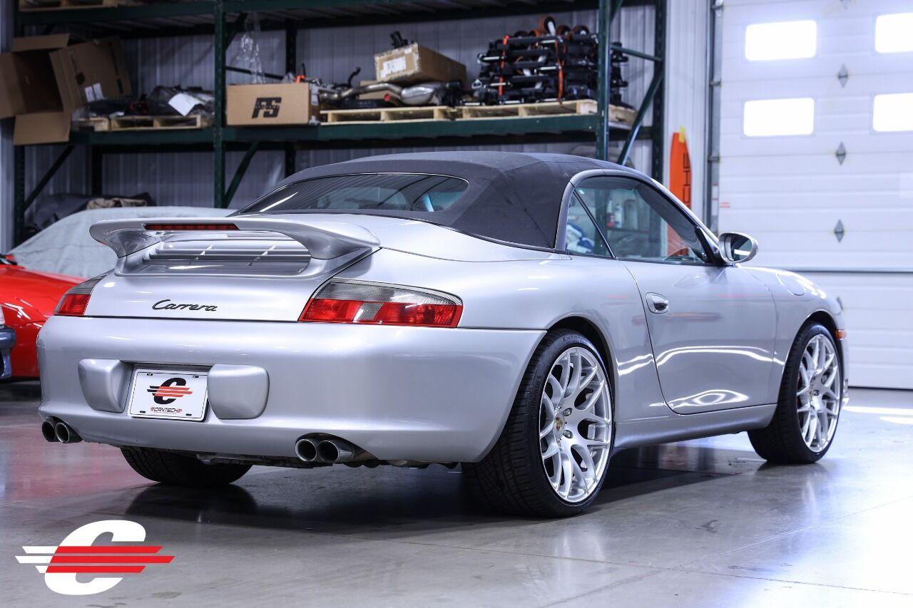 Cantech automotive: 2003 Porsche 911 3.6L H6 Convertible