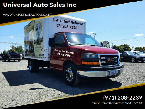 2010 GMC Savana Cutaway for sale at Universal Auto Sales Inc in Salem OR