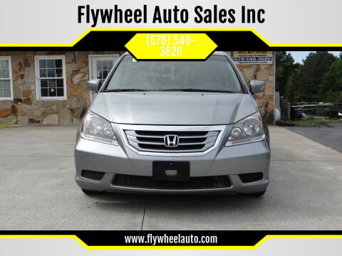 2009 Honda Odyssey for sale at Flywheel Auto Sales Inc in Woodstock GA