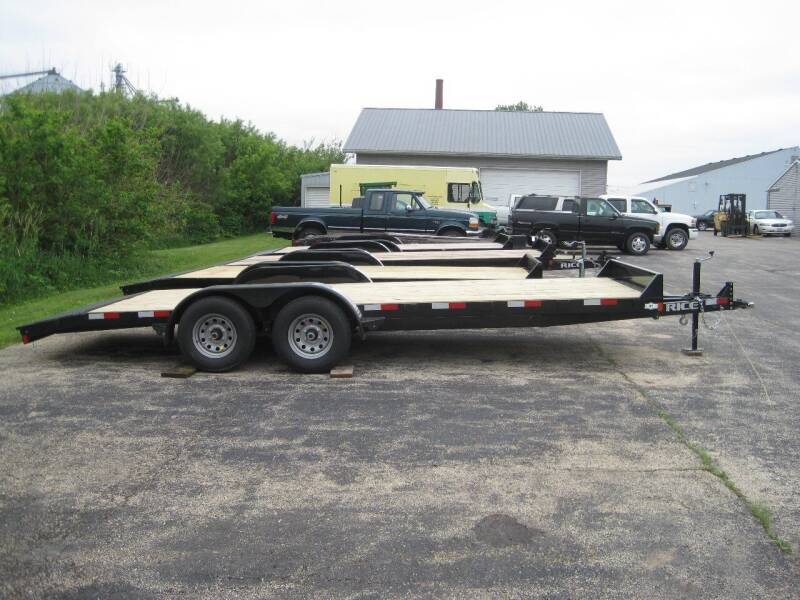 2020 RICE TRAILER 82 IN X 20 FT for sale at G T AUTO PLAZA Inc in Pearl City IL