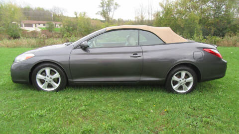 2008 Toyota Camry Solara for sale at LENTZ USED VEHICLES INC in Waldo WI