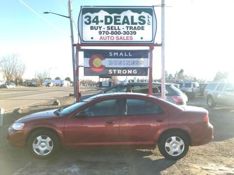 2006 Dodge Stratus for sale at 34 Deals LLC in Loveland CO