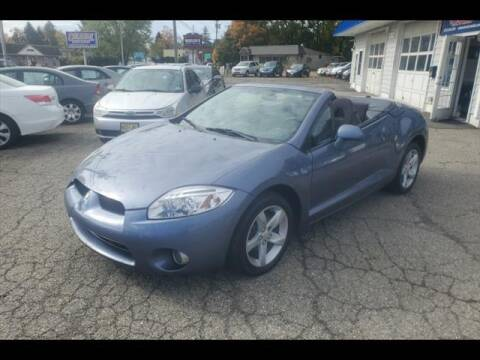 2008 Mitsubishi Eclipse Spyder for sale at Colonial Motors in Mine Hill NJ