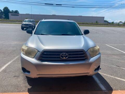 2008 Toyota Highlander for sale at S & H AUTO LLC in Granite Falls NC