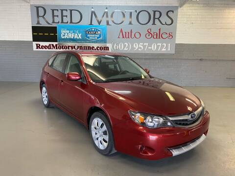 2011 Subaru Impreza for sale at REED MOTORS LLC in Phoenix AZ
