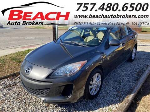 2012 Mazda MAZDA3 for sale at Beach Auto Brokers in Norfolk VA