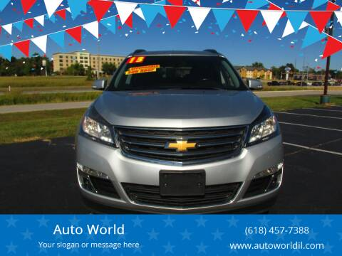 2013 Chevrolet Traverse for sale at Auto World in Carbondale IL