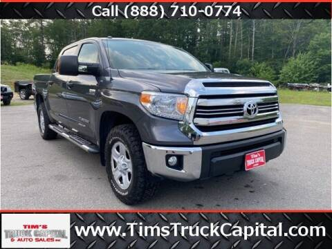 2017 Toyota Tundra for sale at TTC AUTO OUTLET/TIM'S TRUCK CAPITAL & AUTO SALES INC ANNEX in Epsom NH